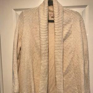 Long Open Knit Sweater